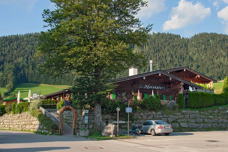 Holzkäfer - Berghütte, Restaurant, Bachstube